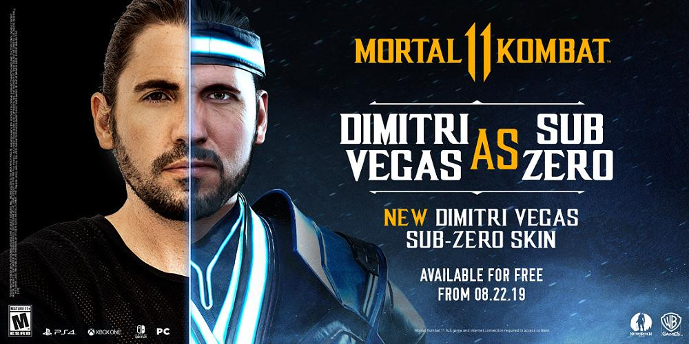Free 'Signature' Sub-Zero Skin Revealed for Mortal Kombat 11