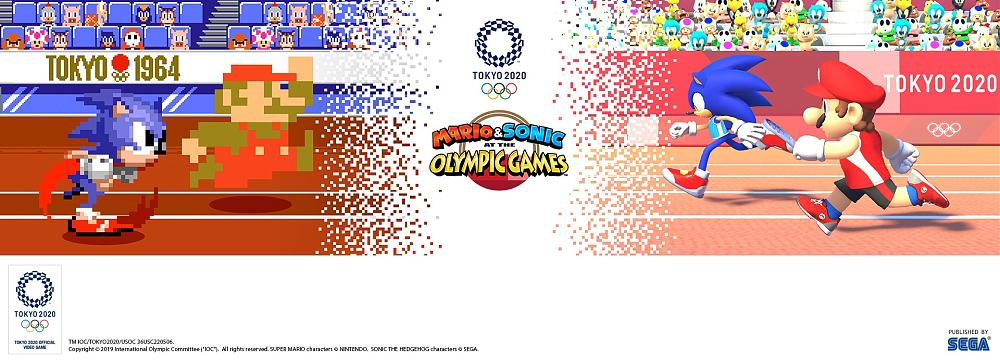 Mario and Sonic at the Olympic Games Goes 2D