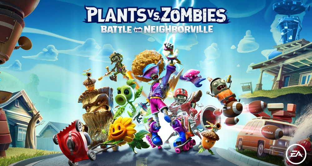 Plants vs. Zombies: Battle for Neighborville Announced and Partially Released Now