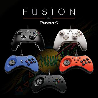 PowerA Announces New Pro and FightPad Fusion Controllers