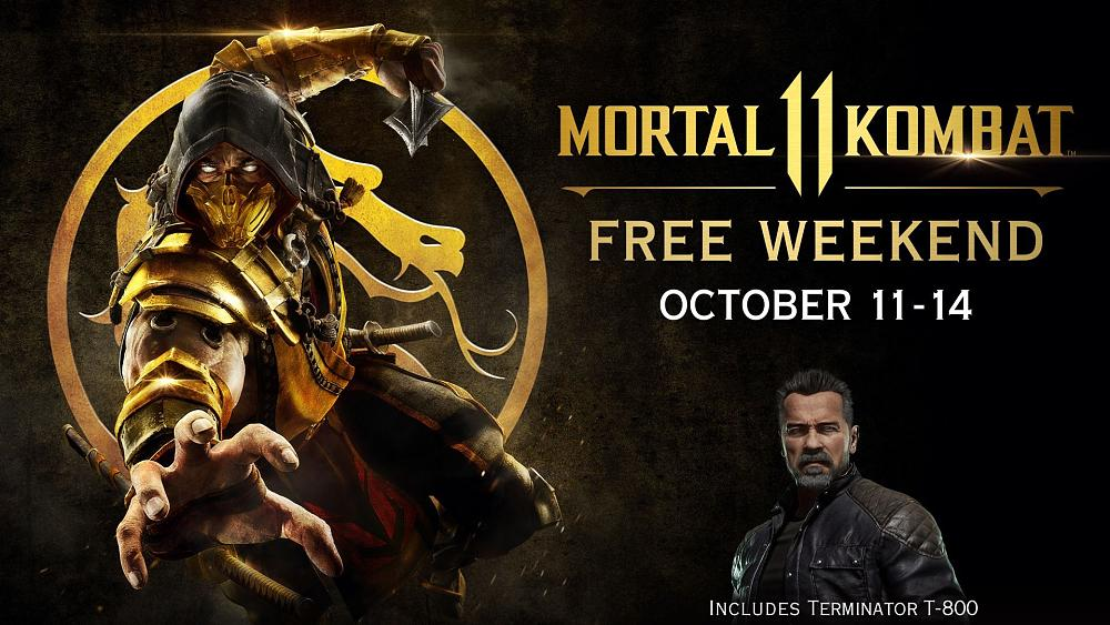 Get Ready for a Mortal Kombat 11 Free Weekend