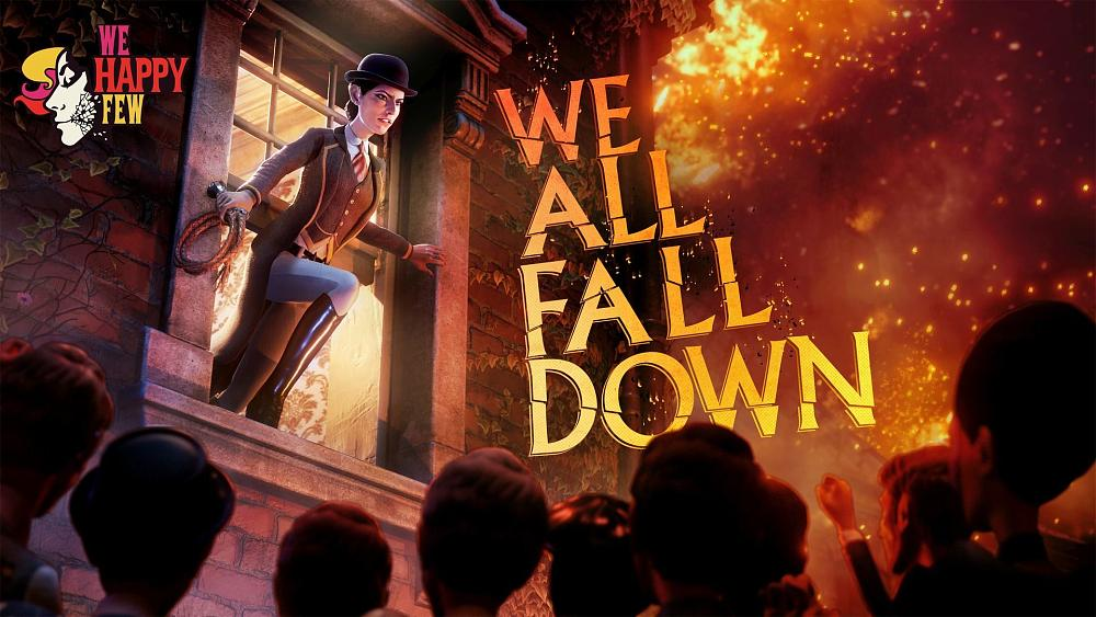 We Happy Few DLC 'We All Fall Down' Releases on November 19
