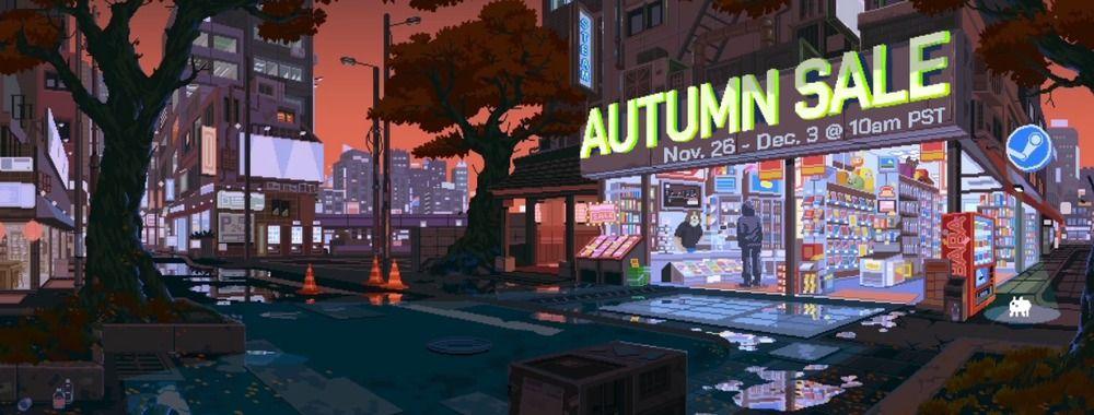 PSA: The Steam Autumn Sale is Live