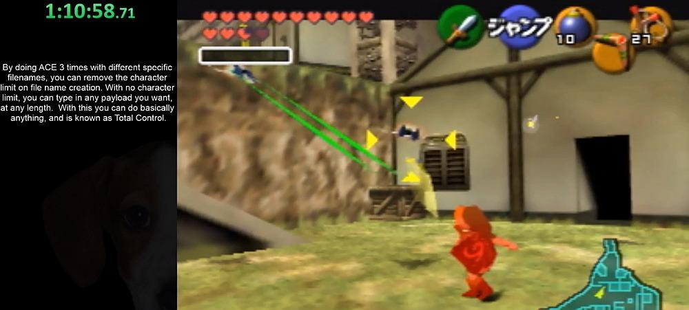 Speedrunners Continue to Break Ocarina of Time - Now Able to Spawn in an Arwing from Star Fox 64