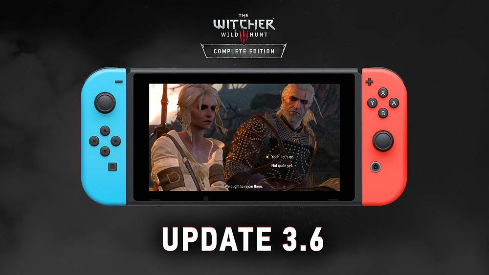 The Witcher 3 Switch Update Enables Cross-platform Saves