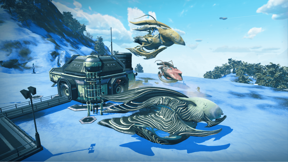 Living Ships Added to No Man's Sky