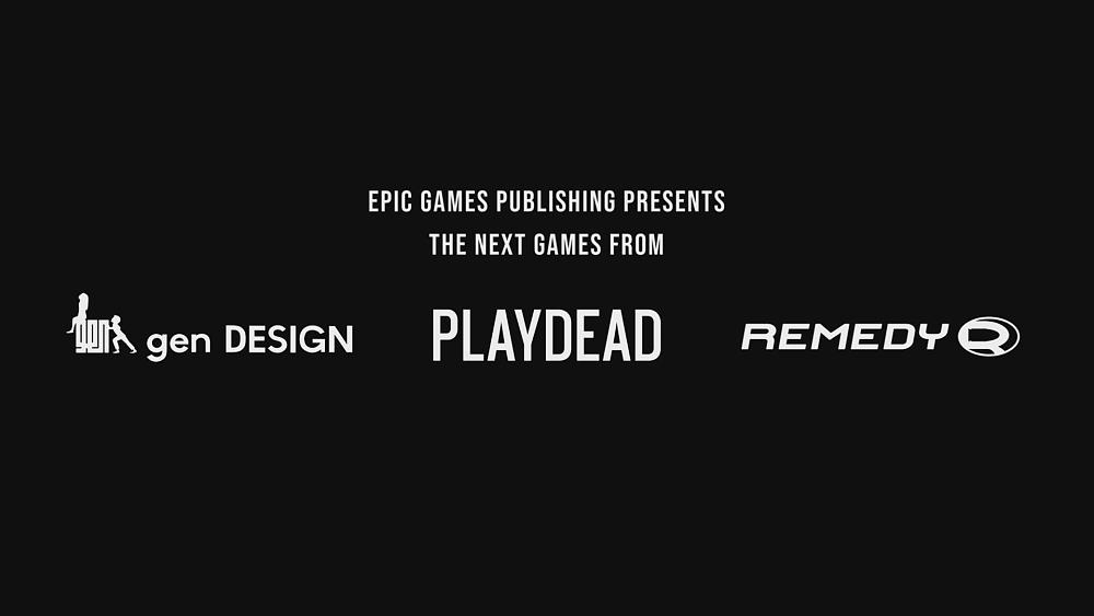 Epic Games Signs Publishing Deal with Remedy, Playdead, and gen DESIGN