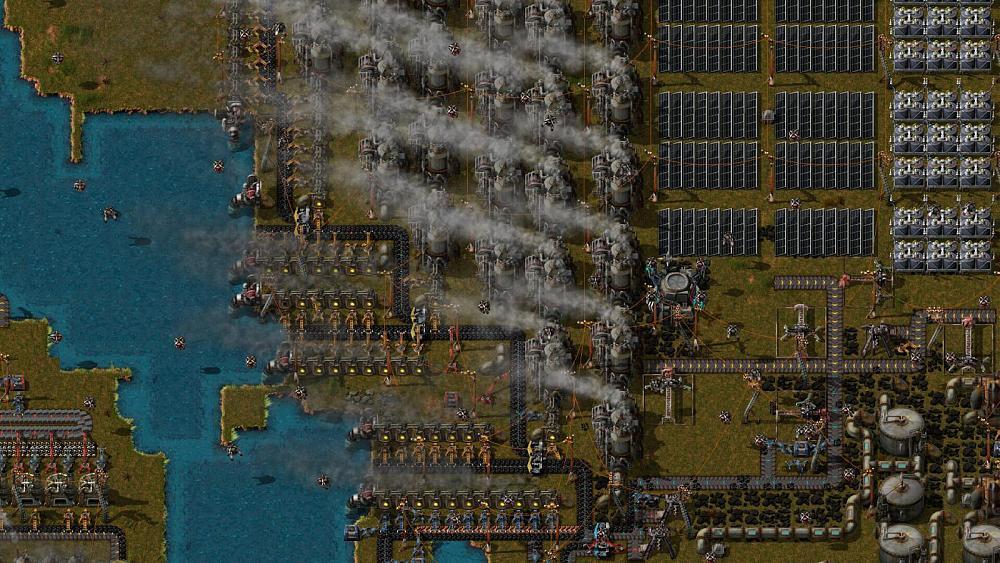 Factorio 1.0 Releasing Early to Avoid Cyberpunk 2077