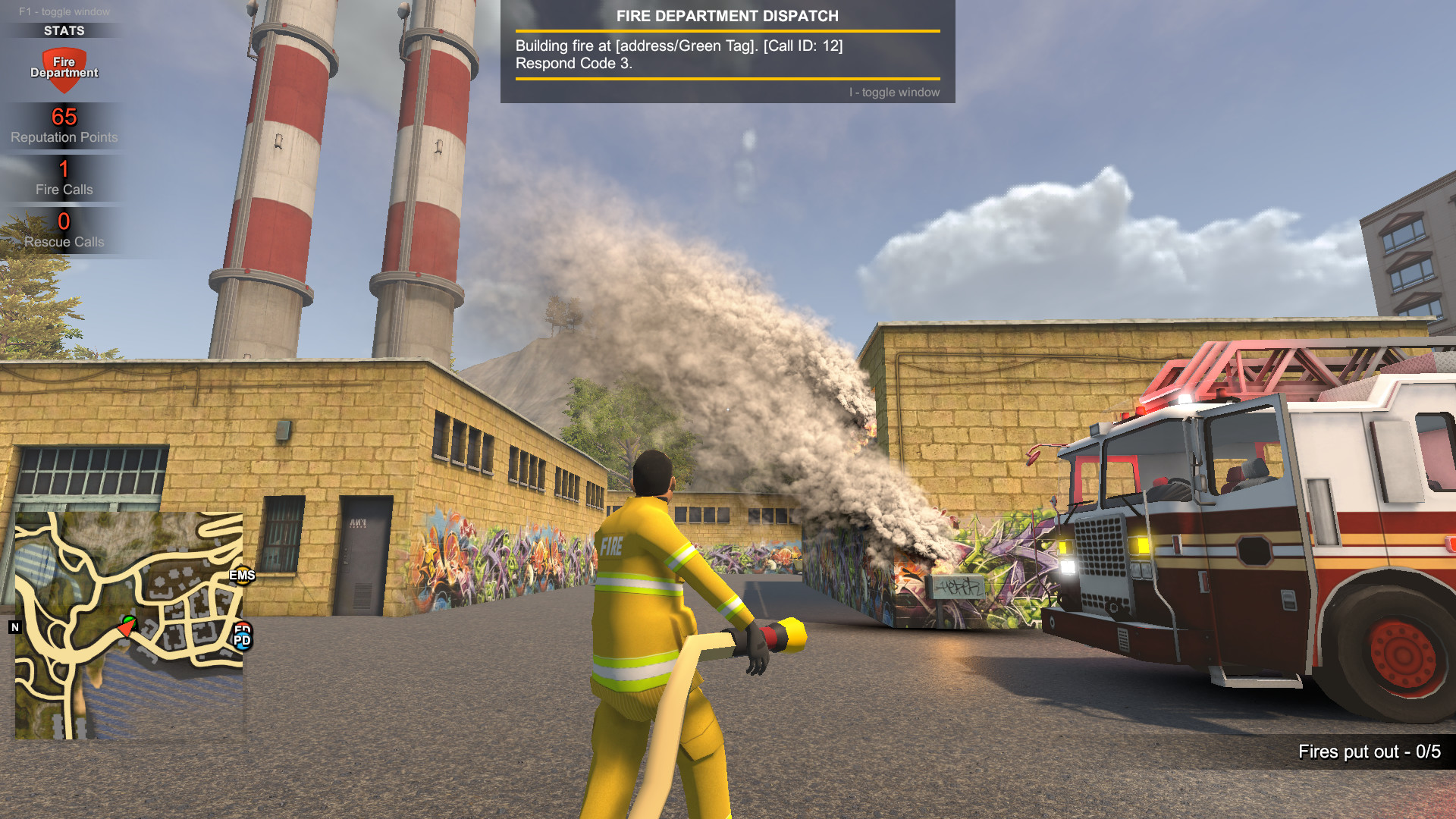 Role Play As The Police Ems Or Firefighters With Today S Release Of Flashing Lights Total Gaming Network