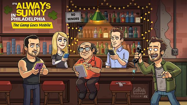 It's Always Sunny: The Gang Goes Mobile