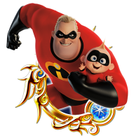 The Incredibles Kingdom Hearts Union X