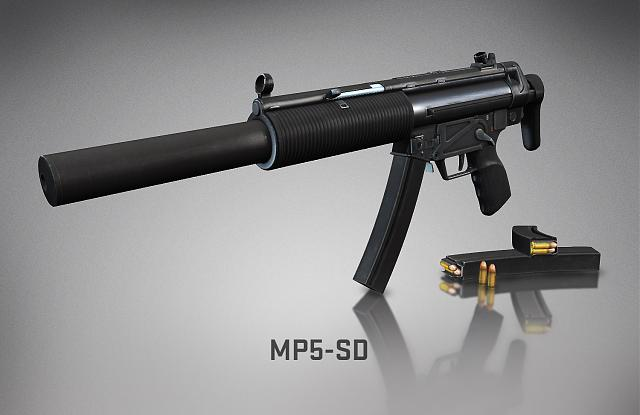 Counter-Strike: Global Offensive MP5