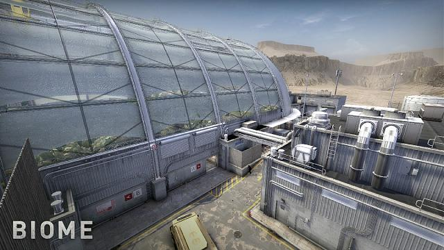 CS:GO Biome map