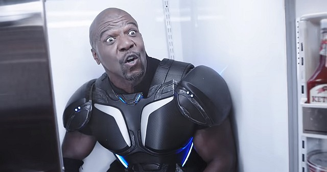 Crackdown 3 and Terry Crews