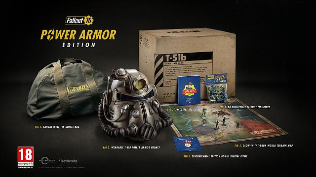 Fallout 76 Power Armor Edition canvas bag