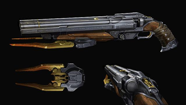 Doom Eternal shotgun concept
