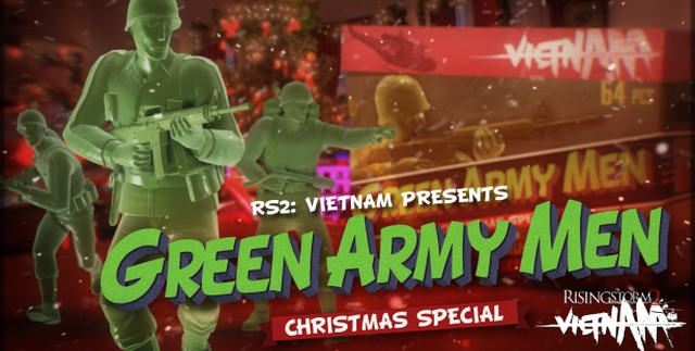 Rising Storm 2: Vietnam Christmas Toy Soldier update