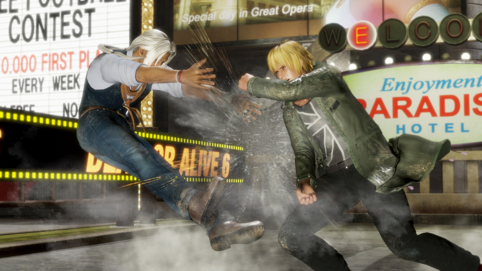 Dead or Alive 6 Brad and Eliot