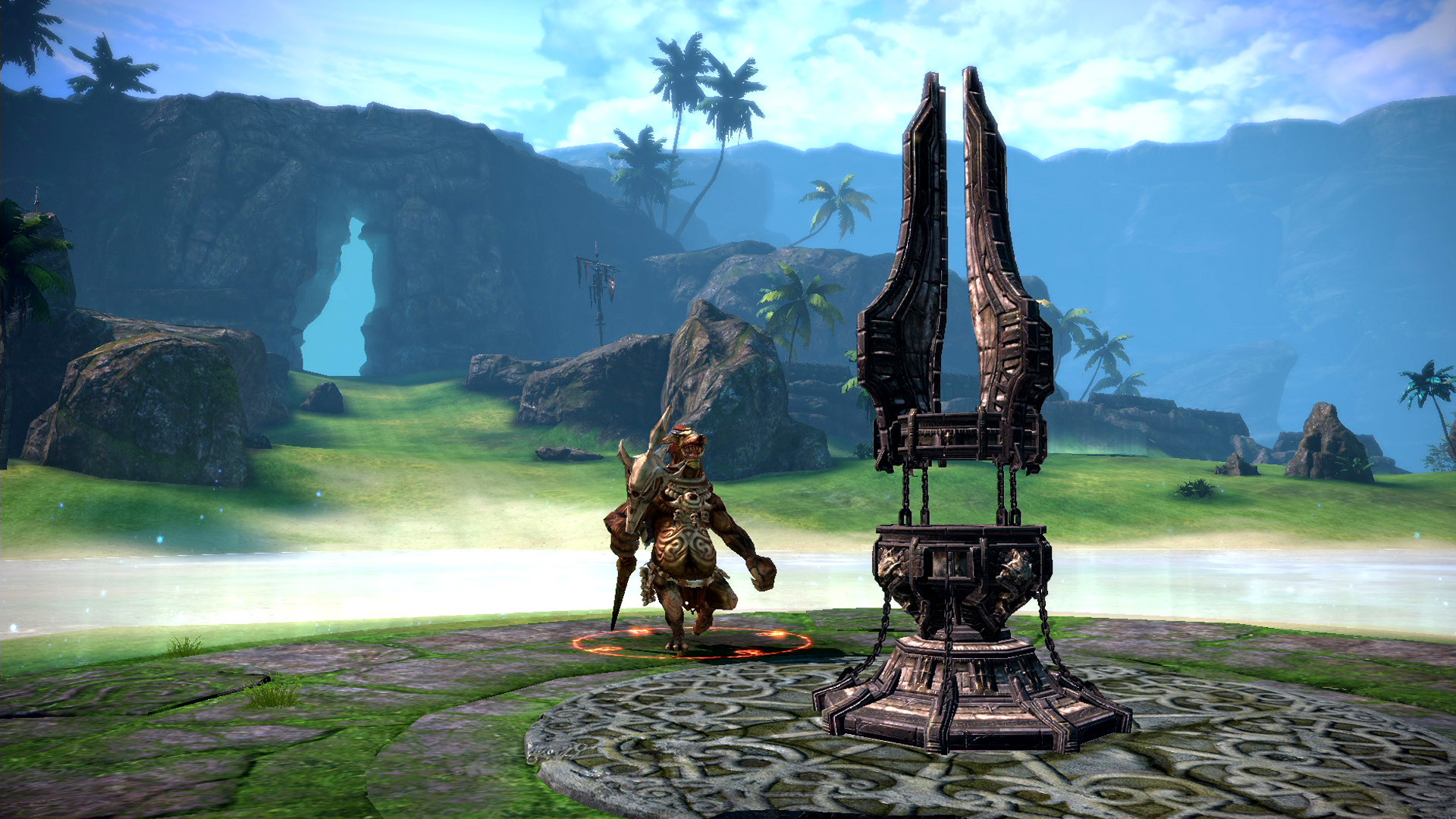 Tera Adds New PvP Battleground and Gear Sets in 'Shore Hold