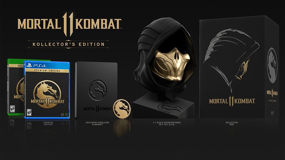 Mortal Kombat 11 Collector's Edition