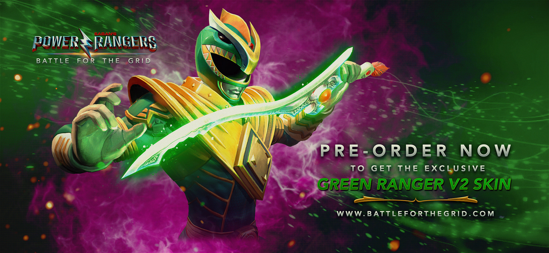 Power Rangers: Battle for the Grid pre-order