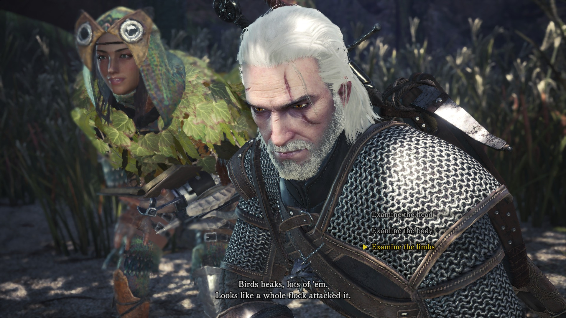 Monster Hunter World x The Witcher