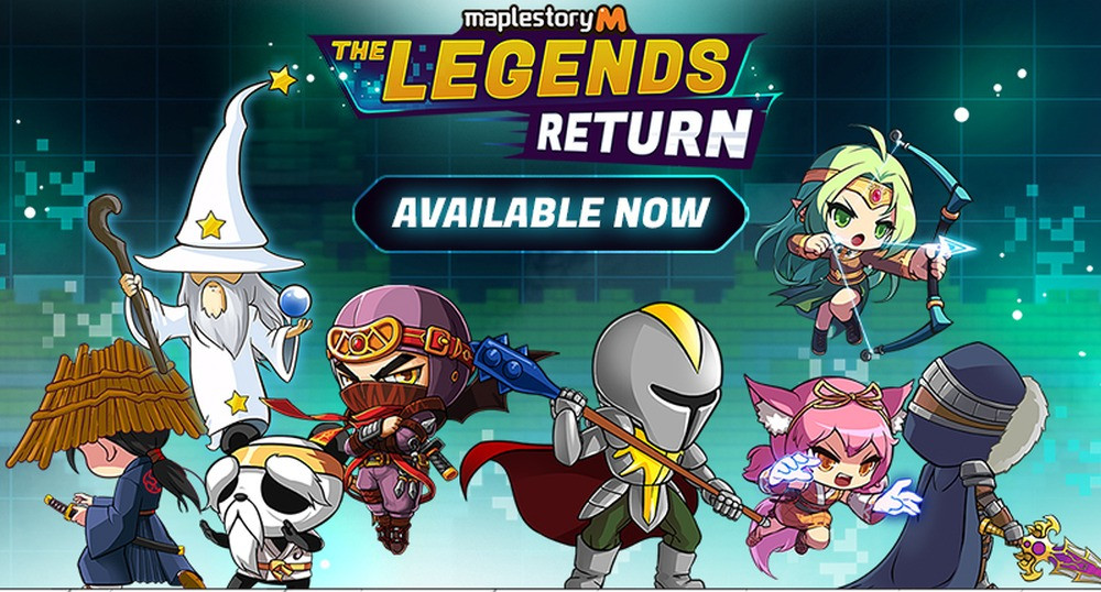 MapleStory M The Legends Return