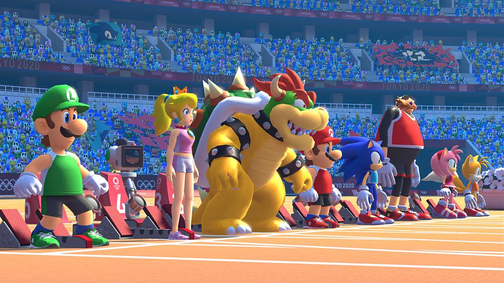 Mario and Sonic Olympics 2020