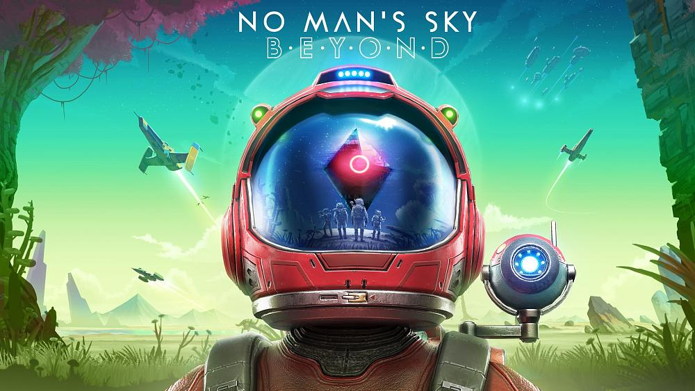 No Mans Sky Beyond key art