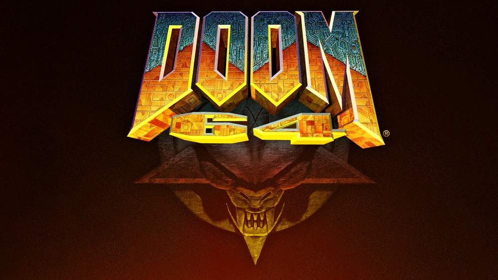 DOOM 64 key art