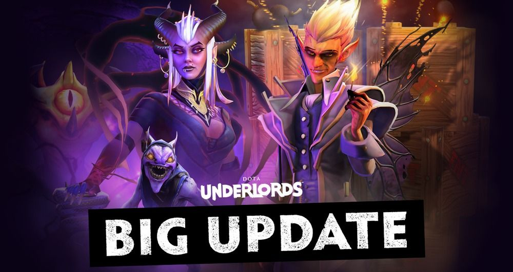 Dota Underlords - The Big Update