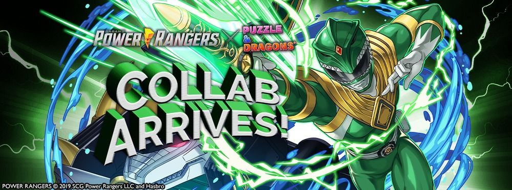 Puzzle & Dragons Power Rangers