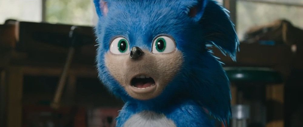 Sonic the Hedgehog movie old