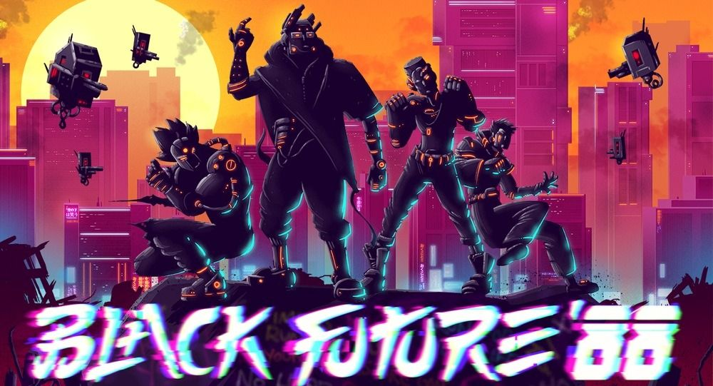 Black Future 88 - Key Art