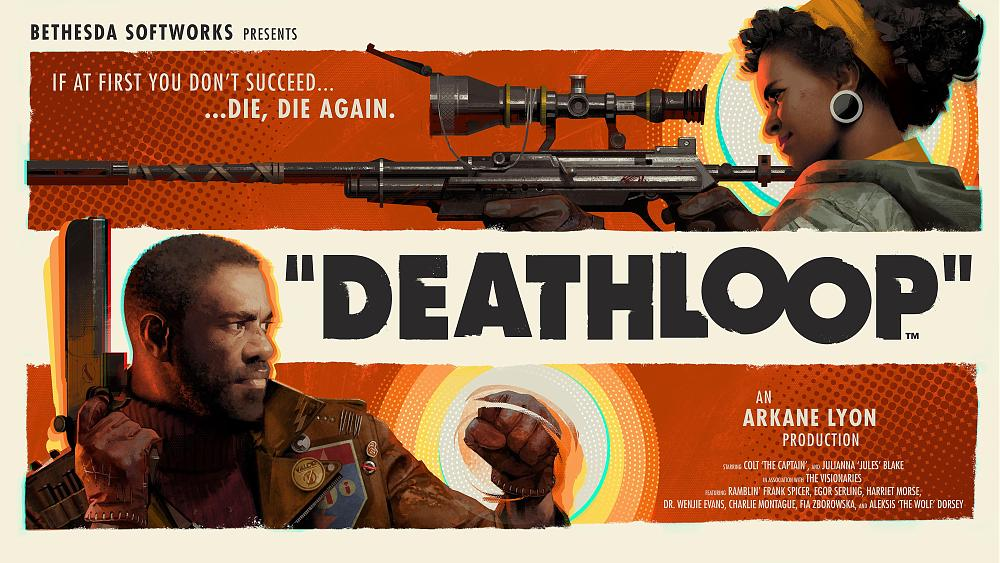 Deathloop key art 4k