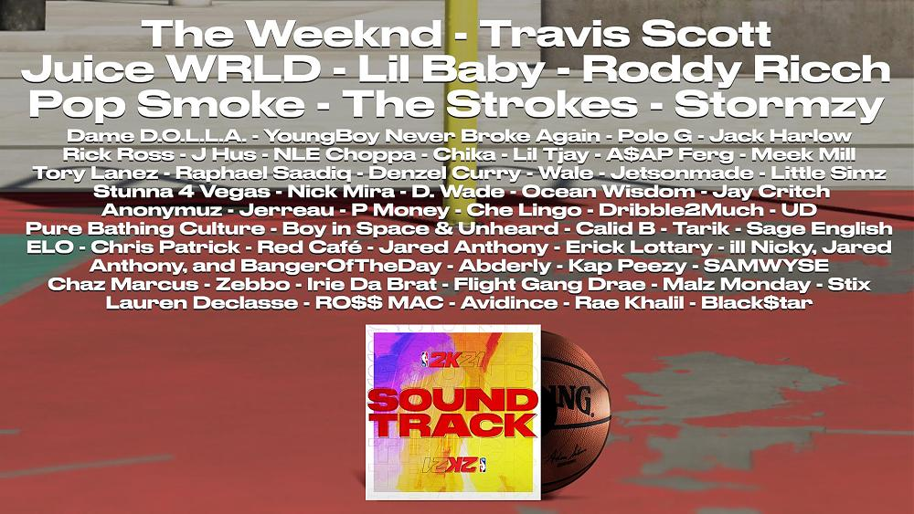 NBA 2K21 soundtrack