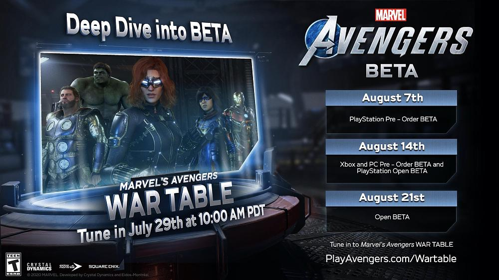Marvel's Avengers open beta