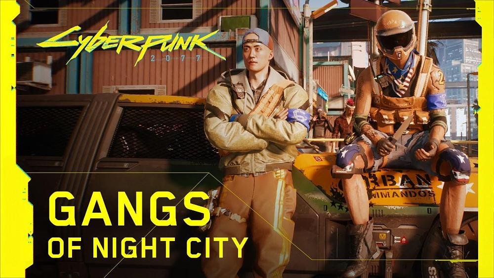 Cyberpunk 2077 - Gangs of Night City