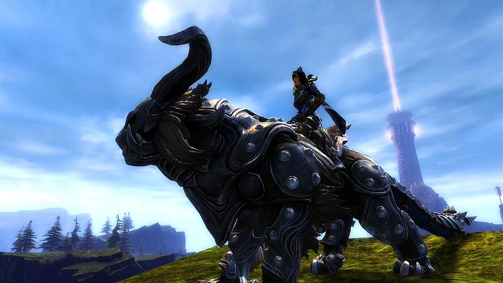 The Warclaw Mount Revealed for Guild Wars 2 - Total Gaming