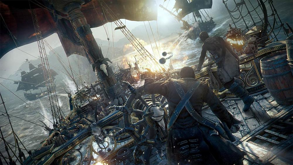 Pirate Games 2020.Ubisoft Delays Pirate Themed Skull And Bones Until Mid